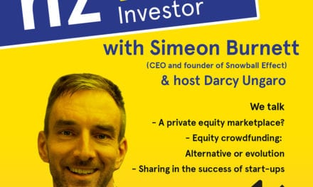 Simeon Burnett: Sharing in the success of Kiwi start-ups!