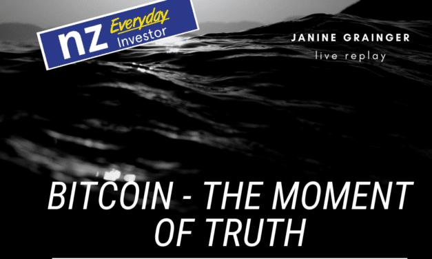 Bitcoin – The Moment of Truth / Janine Grainger