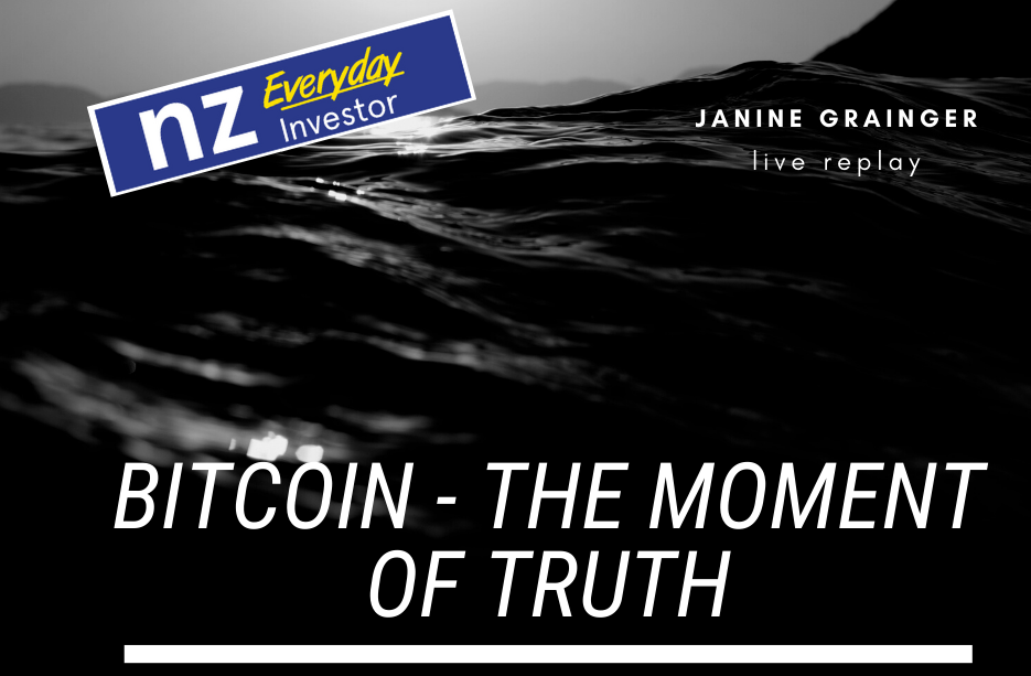 Bitcoin – The Moment of Truth / Janine Grainger