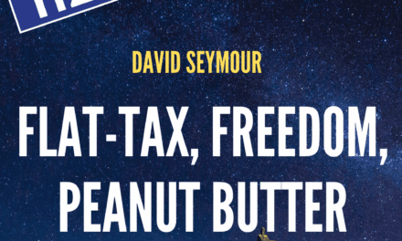Flat-Tax, Freedom, Peanut Butter / David Seymour