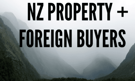 Housing Boom – Are Foreign Buyers still Active? / Geoff Caradus