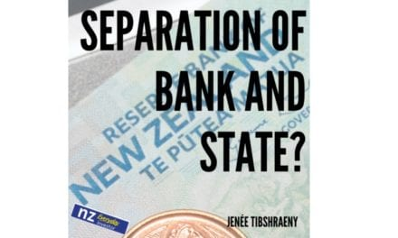 The Reserve Bank of NZ and the Government / Jenee Tibshraeny