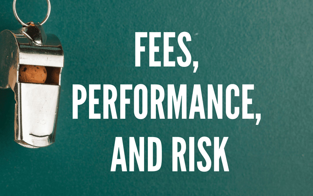 A chat with the FMA / Fees, Performance, and Risk / Ep 154