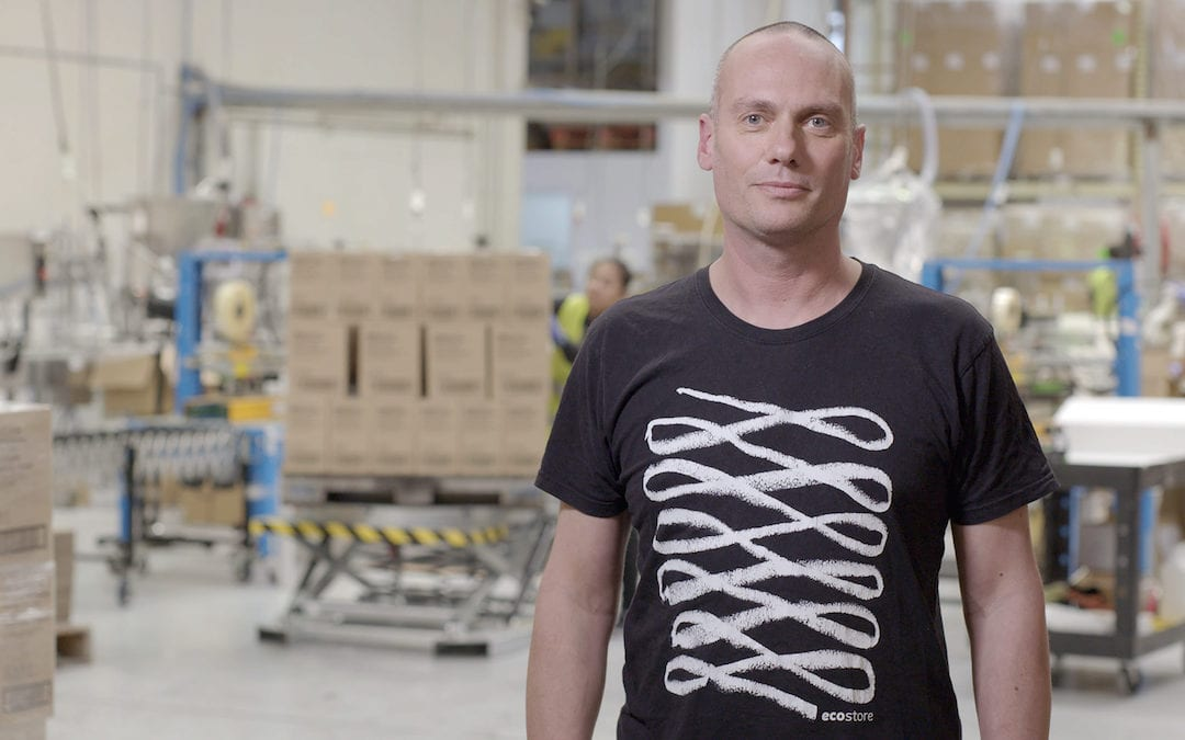 Green, keen and clean: EcoStore's Tony Morpeth