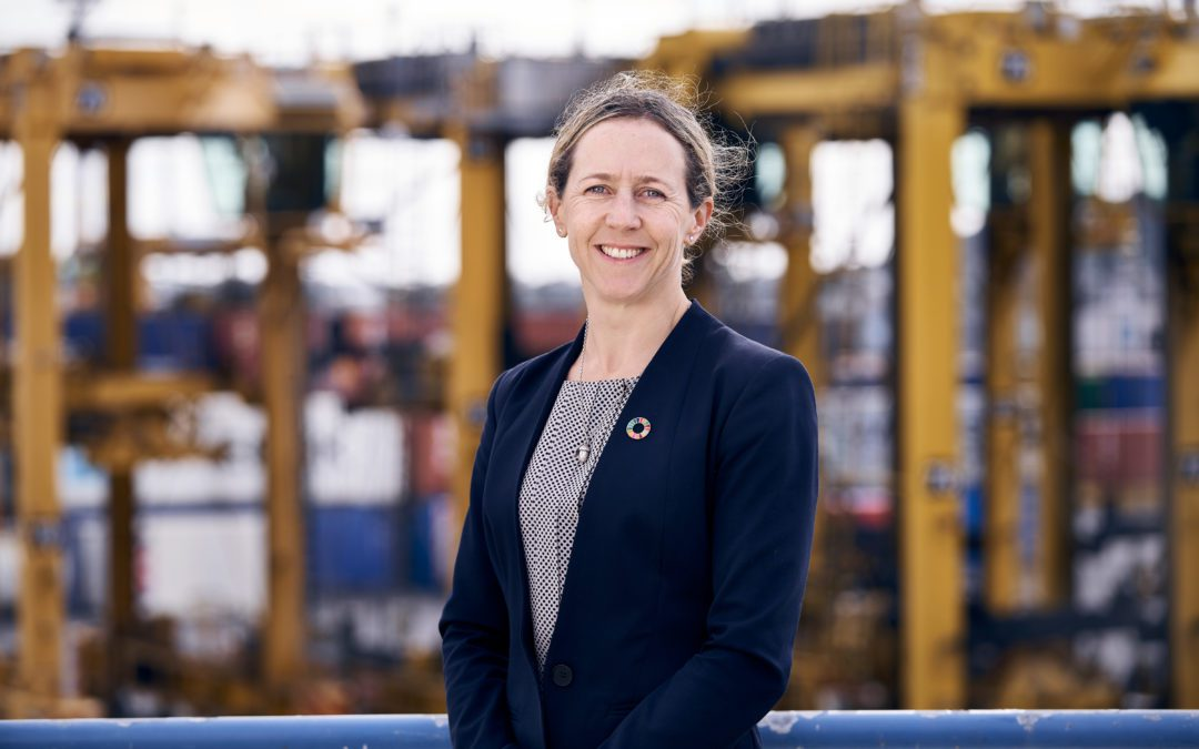 Hydrogen at the docks – Rosie Mercer, Ports of Auckland
